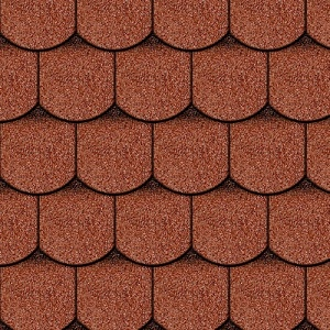 Iko Victorian Tile Red Ultra